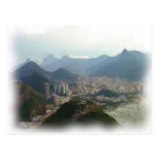 Rio de Janeiro - Brazil Postcard