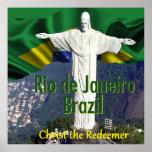 Rio de Janeiro Brazil POSTER Print