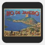 Rio de Janeiro Brazil Square Sticker