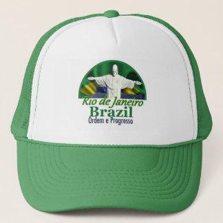 Rio de Janeiro Brazil Trucker Hat