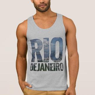 Río de Janeiro - camisetas sin mangas grandes del