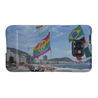 Rio de Janeiro Copacabana Samsung Galaxy SII Fundas