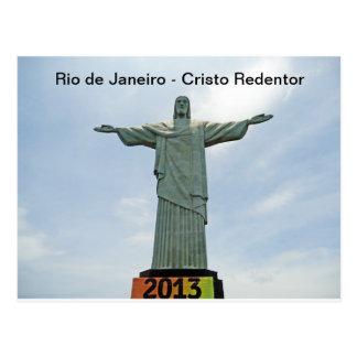 Río de Janeiro - Cristo Redentor Tarjetas Postales