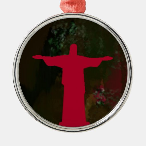 ~ Río de Janeiro de Cristo Redentor. el Brasil Ornamente De Reyes