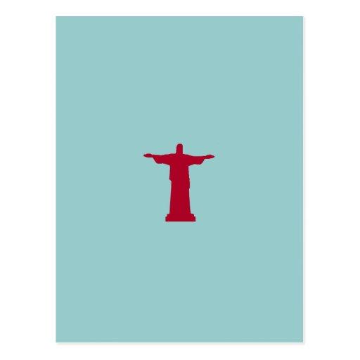 ~ Río de Janeiro de Cristo Redentor. el Brasil Tarjetas Postales