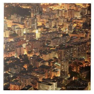 Río de Janeiro, el Brasil 2 Azulejo Cuadrado Grande