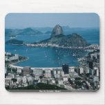 Río de Janeiro, el Brasil Alfombrillas De Raton