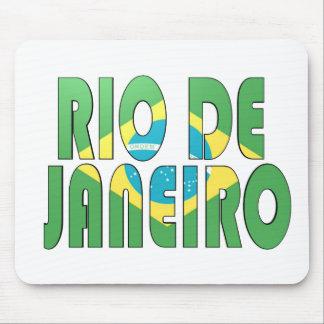 Río de Janeiro, el Brasil Alfombrillas De Ratones