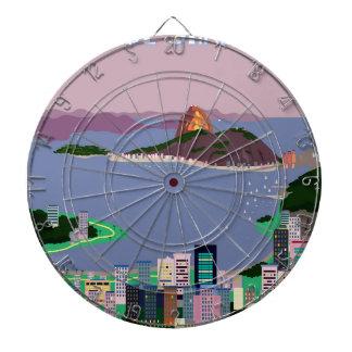 Río de Janeiro - el BRASIL Tablero De Dardos