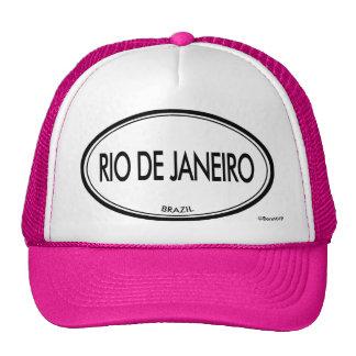 Río de Janeiro, el Brasil Gorras De Camionero