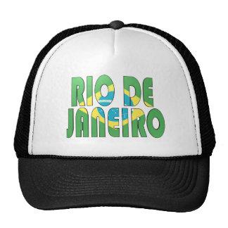 Río de Janeiro, el Brasil Gorras