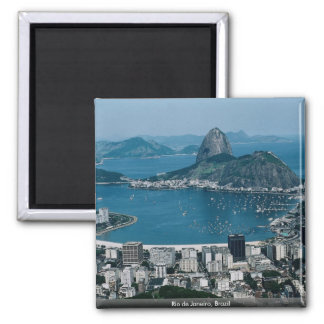 Río de Janeiro, el Brasil Imán Cuadrado