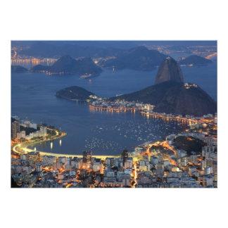 Río de Janeiro el Brasil Invitación Personalizada