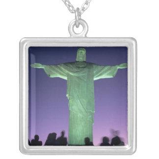 Río de Janeiro, el Brasil. la estatua de Cristo en Collar