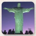 Río de Janeiro, el Brasil. la estatua de Cristo en Posavaso
