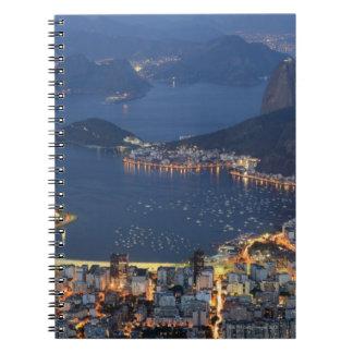 Río de Janeiro, el Brasil Libros De Apuntes