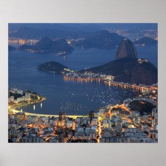 Río de Janeiro, el Brasil Poster