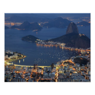 Río de Janeiro, el Brasil Póster