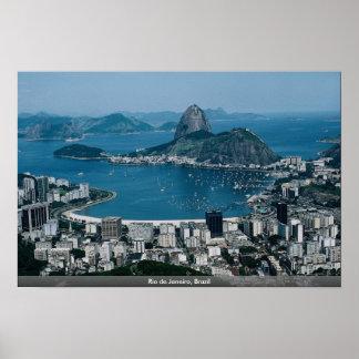 Río de Janeiro el Brasil Poster
