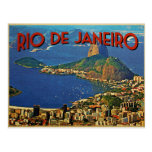 Río de Janeiro el Brasil Tarjeta Postal