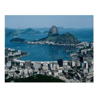 Río de Janeiro, el Brasil Tarjeta Postal