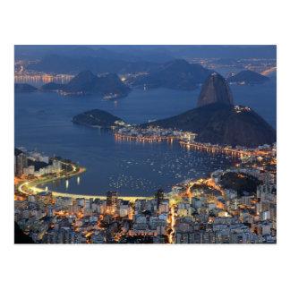Río de Janeiro, el Brasil Tarjetas Postales