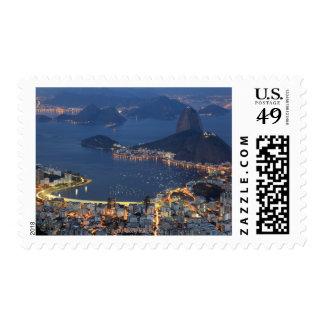 Río de Janeiro, el Brasil Timbres Postales
