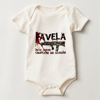 Rio de Janeiro Favela (Slum/Shanty Town) Baby Bodysuit