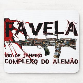 Rio de Janeiro Favela (Slum/Shanty Town) Mouse Pad