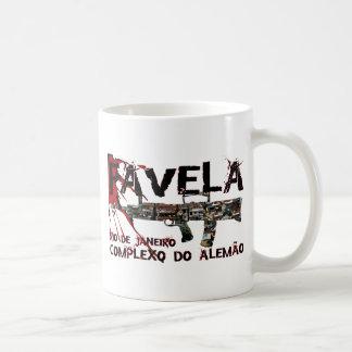 Rio de Janeiro Favela (Slum/Shanty Town) Coffee Mugs