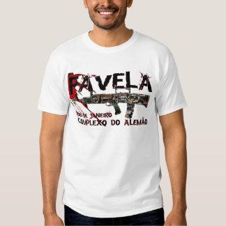 Rio de Janeiro Favela (Slum/Shanty Town) Shirts