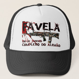 Rio de Janeiro Favela (Slum/Shanty Town) Trucker Hat