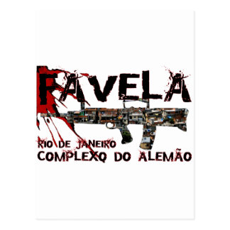 Río de Janeiro Favela (tugurios/ciudad de chabola) Tarjetas Postales