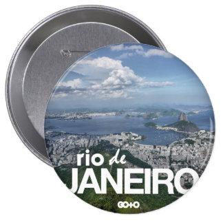 Rio de Janeiro - Guanabara Bay Scenery Badge