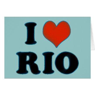 rio de janeiro - I love Rio Card