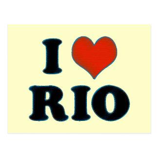 rio de janeiro - I love Rio Postcard