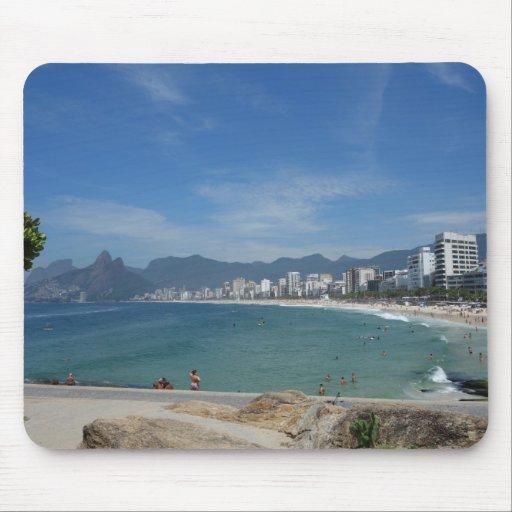 Rio de Janeiro Ipanema Mouse Pad