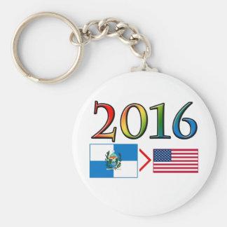 Rio de Janeiro is Better Basic Round Button Keychain