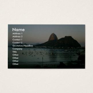 Rio De Janeiro Island Business Card