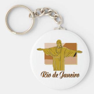Rio de Janeiro Keychains