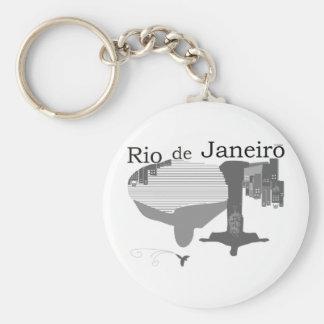 Rio de Janeiro Keychain