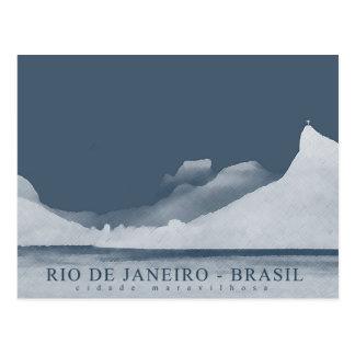 rio de janeiro landscape postcard