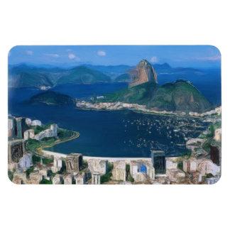 Rio de Janeiro Painting Magnet