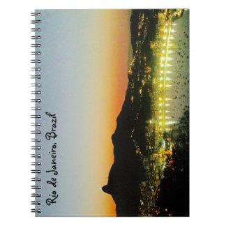 Rio de Janeiro Photo Notebook (80 Pages B&W)
