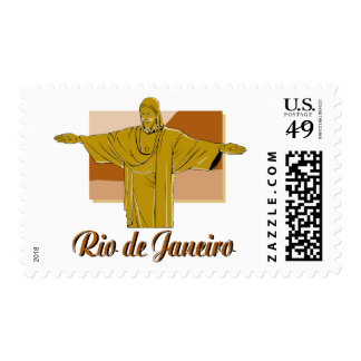 Rio de Janeiro Postage Stamp