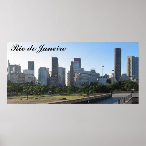 Rio de Janeiro Poster zazzle_print