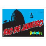 Río de Janeiro retro el Brasil Postal