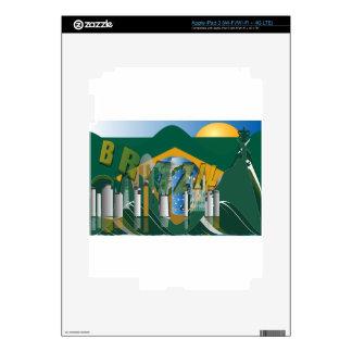 Rio de Janeiro skyline Skin For iPad 3