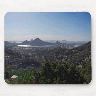 Rio De Janeiro South Zone Mouse Pad