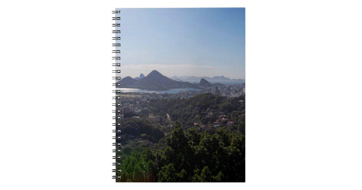 Rio De Janeiro South Zone Spiral Notebook Zazzle